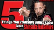 5 Things You Probably Didn't Know About Shinsuke Nakamura.