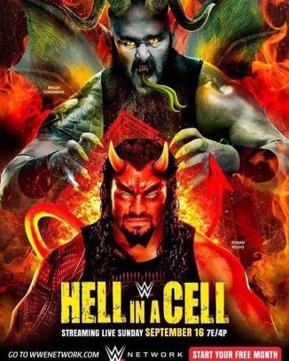 WWE HELL IN A CELL POSTER