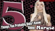 5 Things You Probably Didn't Know About Maryse.