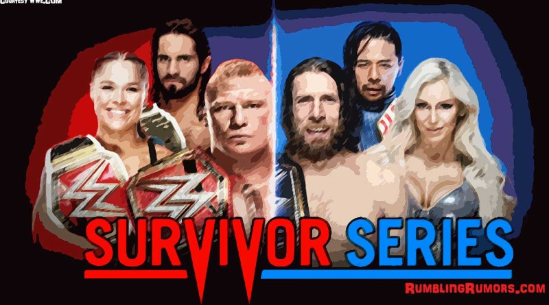 Survivor Series 2018 Card and Predictions