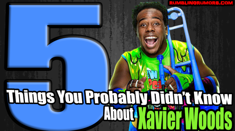 5 Things You Probably Didn't Know About Xavier Woods