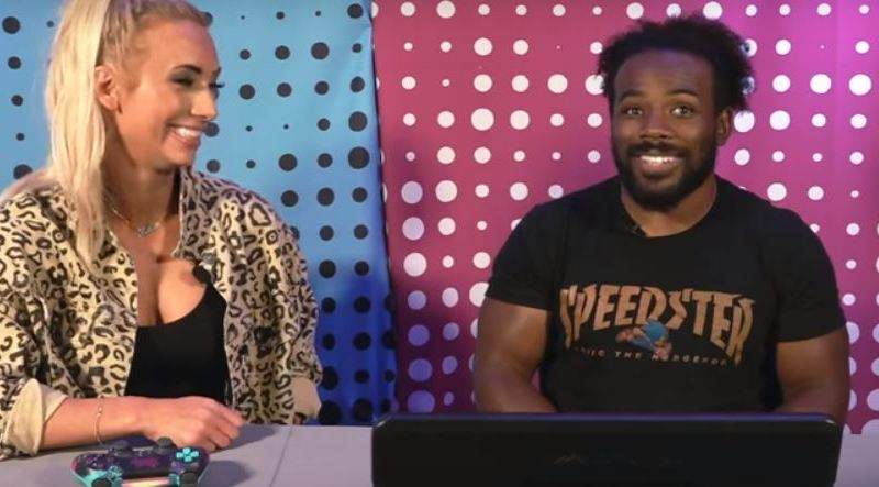 Carmella Debuts On Xavier Wood's UpUpDownDown