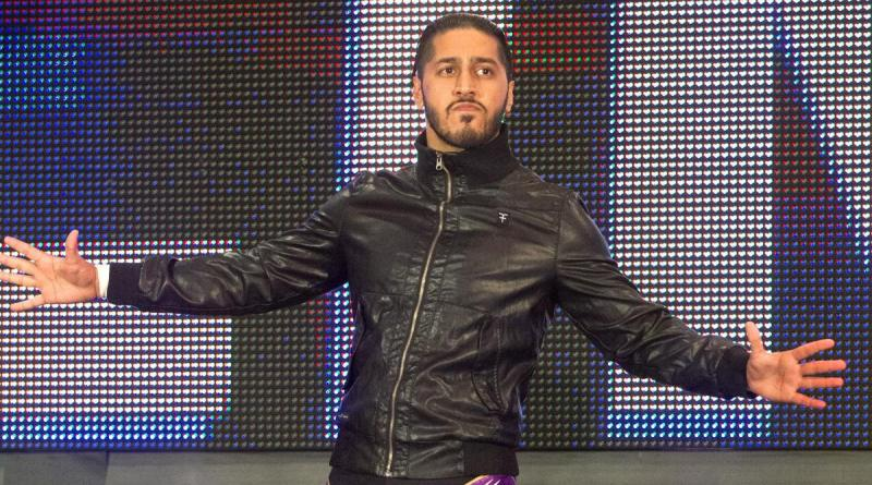 Mustafa Ali Shows HIs Massive Black Eye After Randy Orton Match