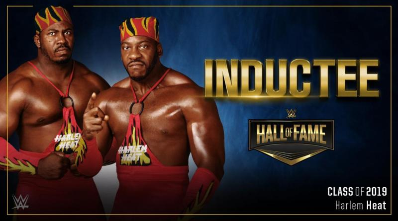 Harlem Heat Will Be Inducted Into The WWE Hall of Fame Class of 2019