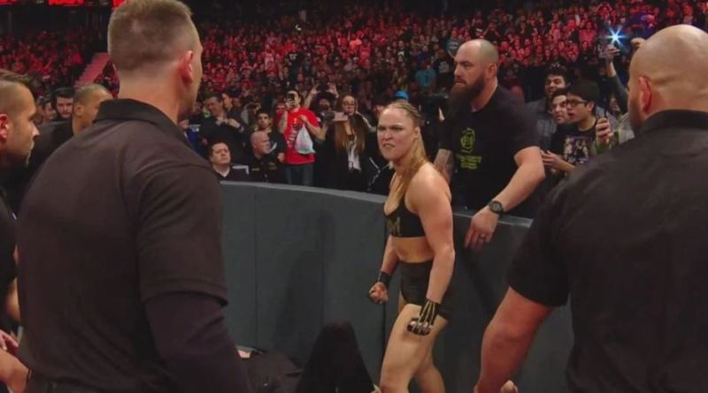 WWE Ranks The Top 10 Most Ferocious Front-Row Altercations (Video)