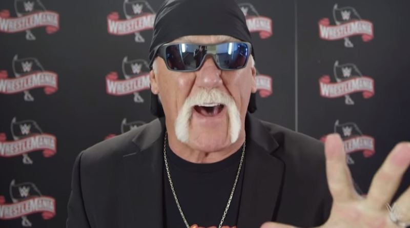 Hulk Hogan Recalls One Of WrestleMania's Most Explosive Moments (Video)