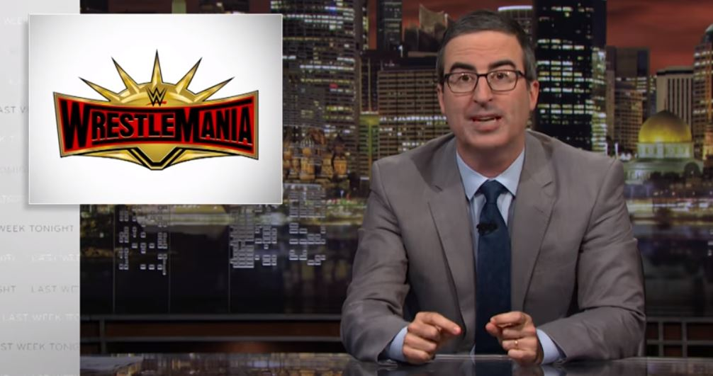 """WWE Responds To John Oliver """"John Oliver Simply Ignored The Facts""""."""