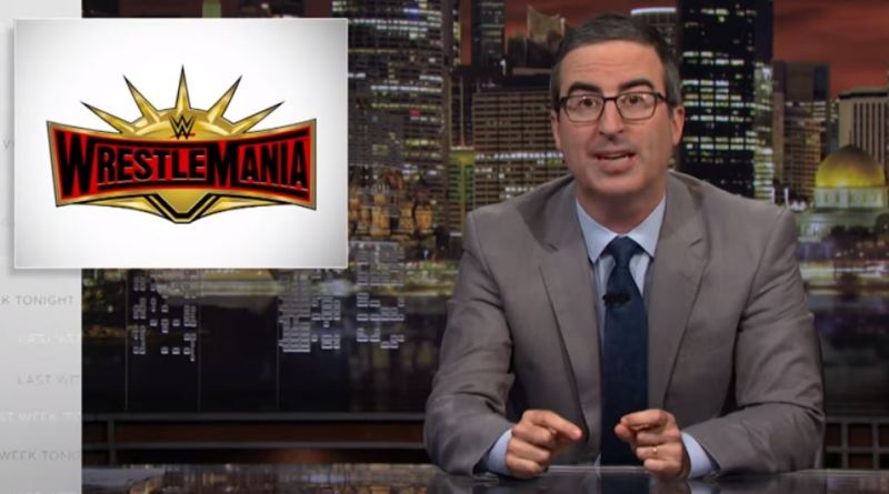 "John Oliver Attacks WWE and Vince McMahon ""McMahon plays an a—hole on TV, but is also an a–hole in real life""."