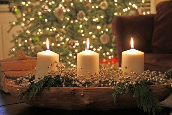 Doughbowl-candles