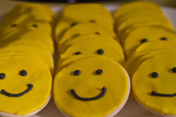 Birthday-cookies