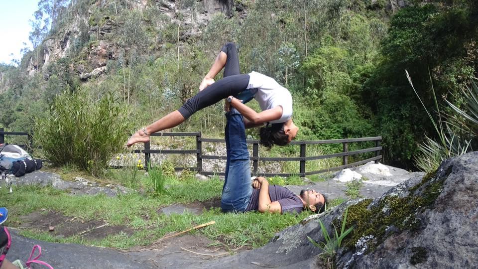 Taller de Acro Yoga en septiembre en RumiSol