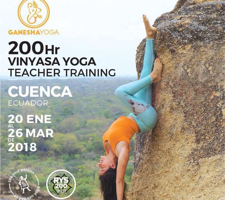 Ganesha Yoga Teacher Training 2018