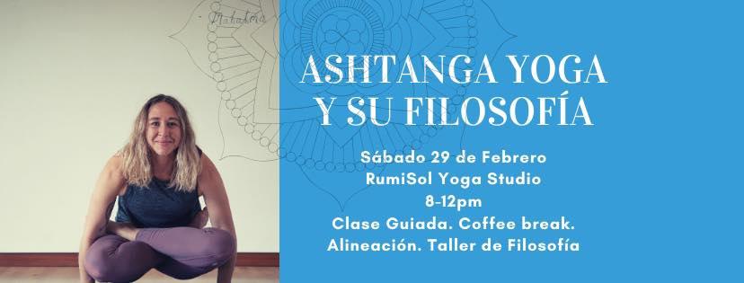 Ashtanga taller este sábado!