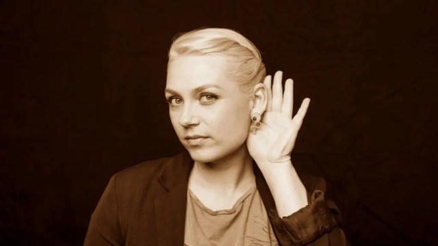 Katrine underviser i Ableton Live og Push hos Rumkraft