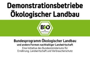 Logo der Demonstrationsbetriebe für ökologischen Landbau