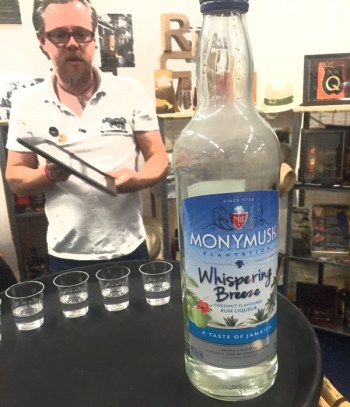 Monymusk coconut flavoured rum liquere