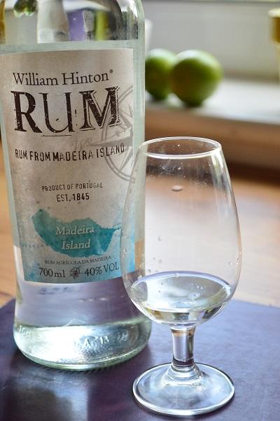 William Hinton white rum from Madeira
