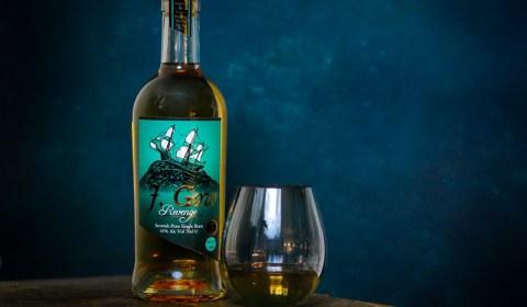 revenge bottle and glass