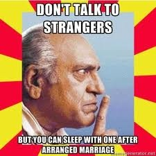 sleep with strangers