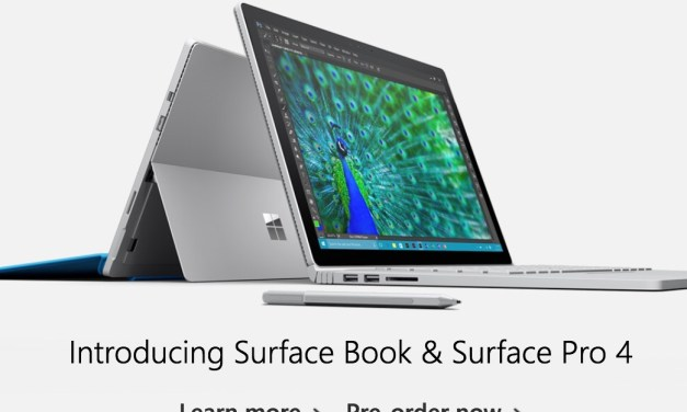 Microsoft Updates Lumia, Surface Pro and Introduces Surface Book