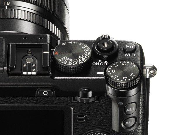 Kamera Fujifilm X-E2 (Detail Kontrol), Image Credit Fujifilm
