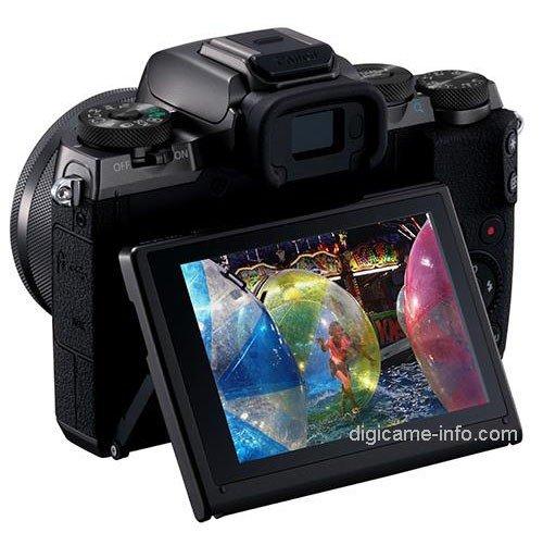 Kamera Canon M5 (LCD)
