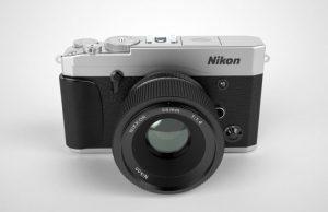 Nikon Mirrorless Baru, Gambar Konsep