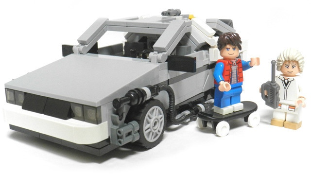 Lego EVE Online   rumphy Lego Cuusoo Back to the Future Project Reaches 10 000 Supporters