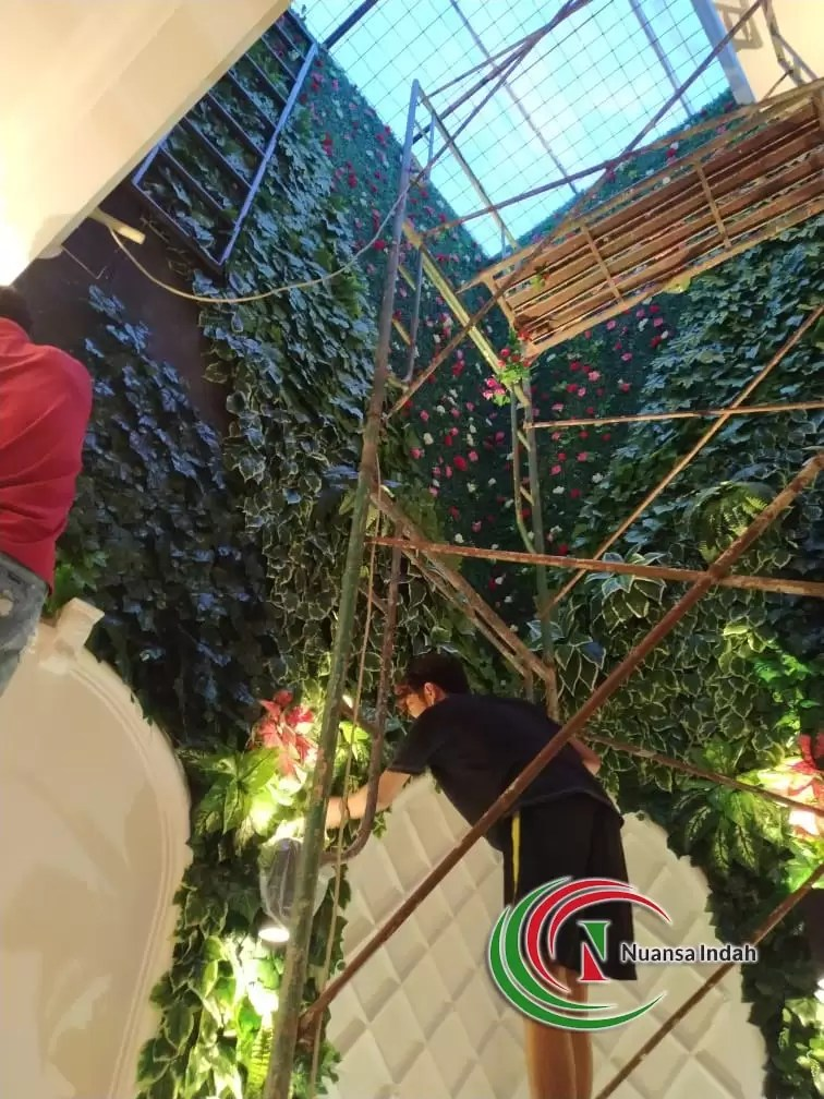 tukang taman vertikal Ciawi