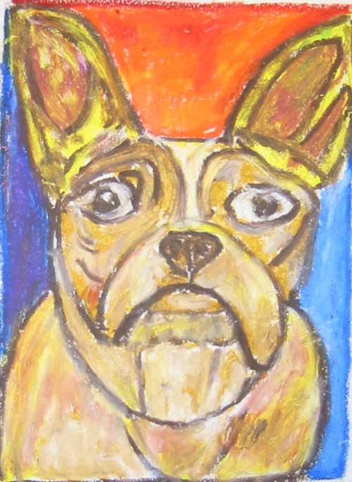Ron Burns Dog Portrait