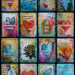 Postcard Project Class with Angie Renee