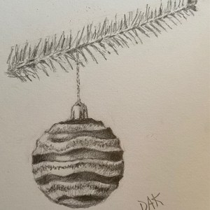 Holiday Ornament Drawing Project With Deb
