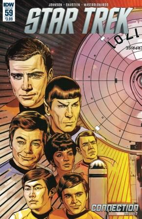 Star Trek 59 Connection part 1 cover