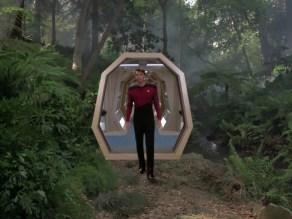Riker betritt das Holodeck.