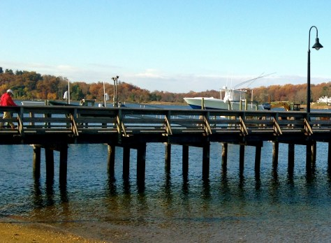 SUNNY DAY DOWN BY FAIR HAVEN DOCK