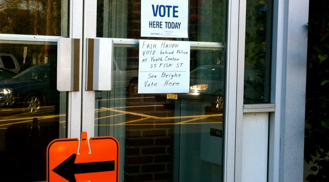 Voting in 2012 in the Wake of Sandy