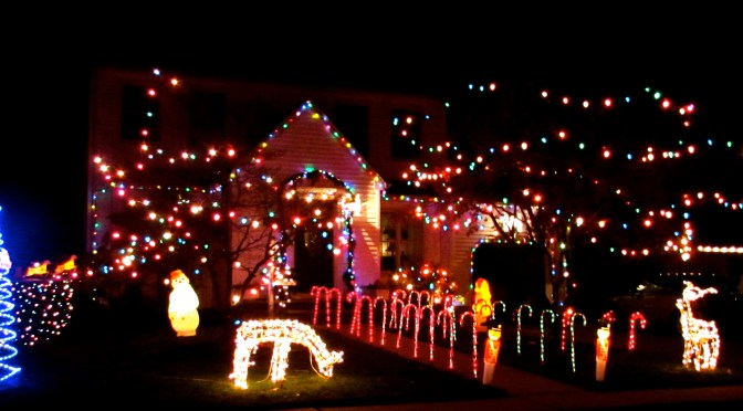 Lighting Up the Holidays in the R-FH Area