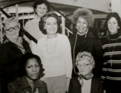 Rumson-Fair Haven Regional High School teacher aides of the 1970s. Photo/screenshot of RFH yearbook