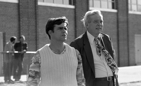 A look back at RFH science teacher James Parker and Assistant Superintendent Donald Trotter Photo/George Day
