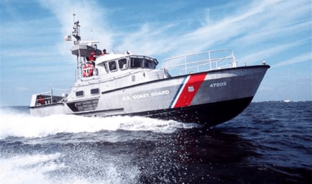 Coast Guard: Easter Capsized Boat Rescue on Shrewsbury River