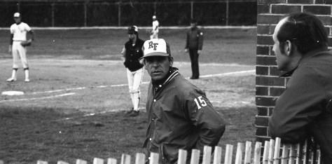 RFH coach and teacher Hal Lorme circa 1970s. Photo/George Day