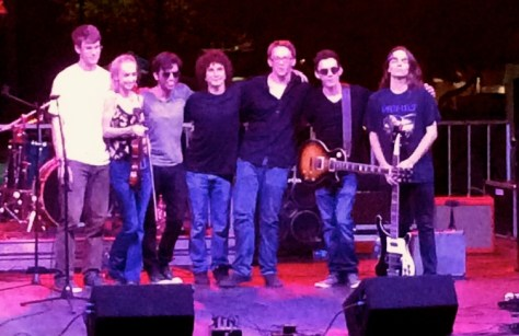 The Jake Tavill Band at Riverfest 2015 Photo/Daryl Ley