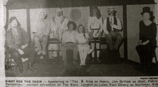 Retro Rumson Summer: The Barn Theater