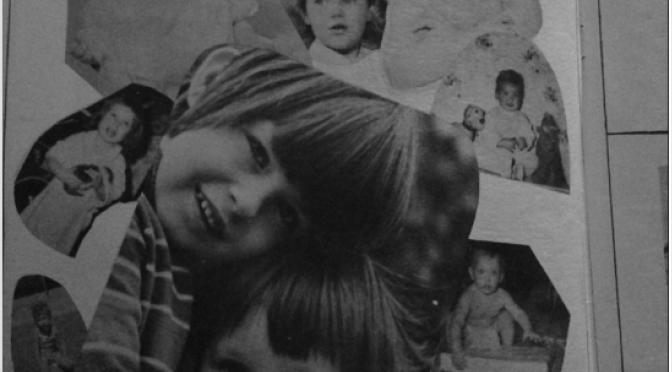 Retro Forrestdale Yearbook Kids