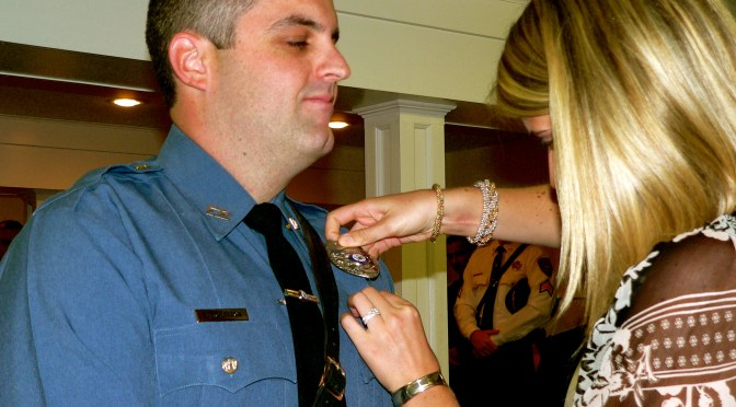 Hometown Swearing-in: Fair Haven Police Patrolman Brooks Robinson