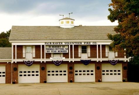 Fair Haven Fire Department mourns Thomas Vetterl. Photo/Elaine Van Develde