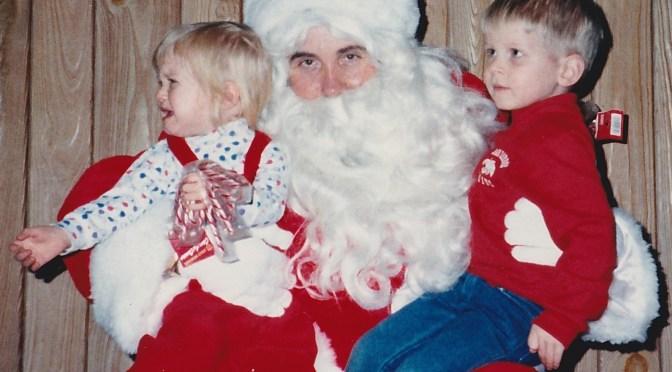 Retro Firehouse Santa Tears
