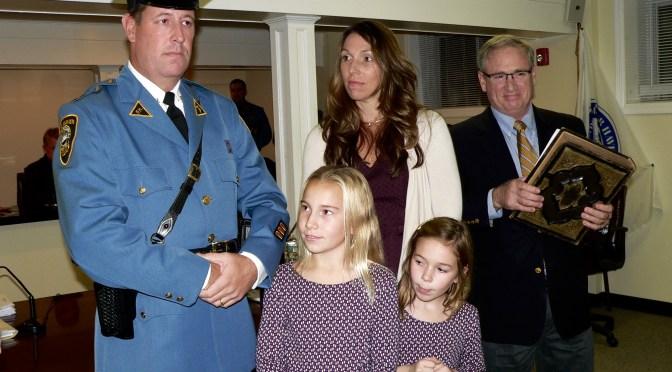 Fair Haven: Lt. Bob Townshend's Hometown Police Promotion