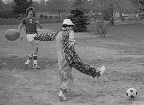 A little clowning around at RFH in the 1970s. Photo/George Day