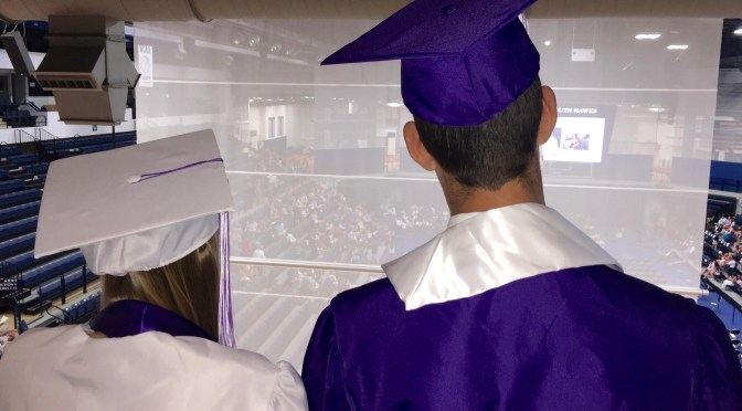 Focus: Backstage at RFH Graduation